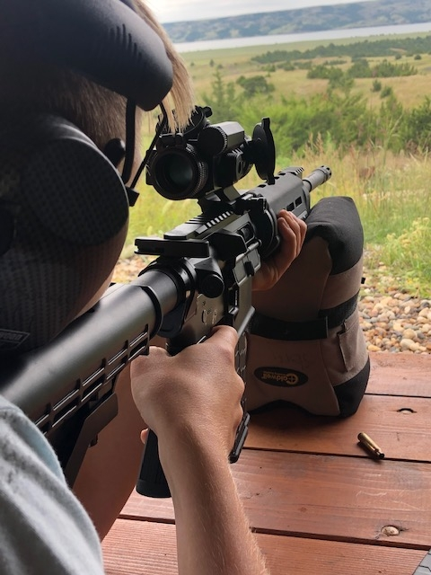 Long Range Riffle South Dakota